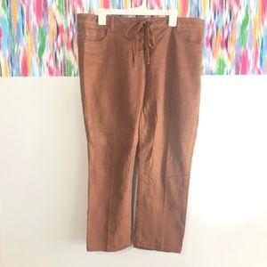 🦋 3:$15 Vanilla Star brown flare jean